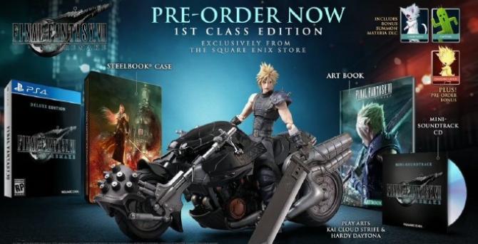 《最终幻想7重制版》售价2280元 附送克劳德手办和特典DLC-有饭研究
