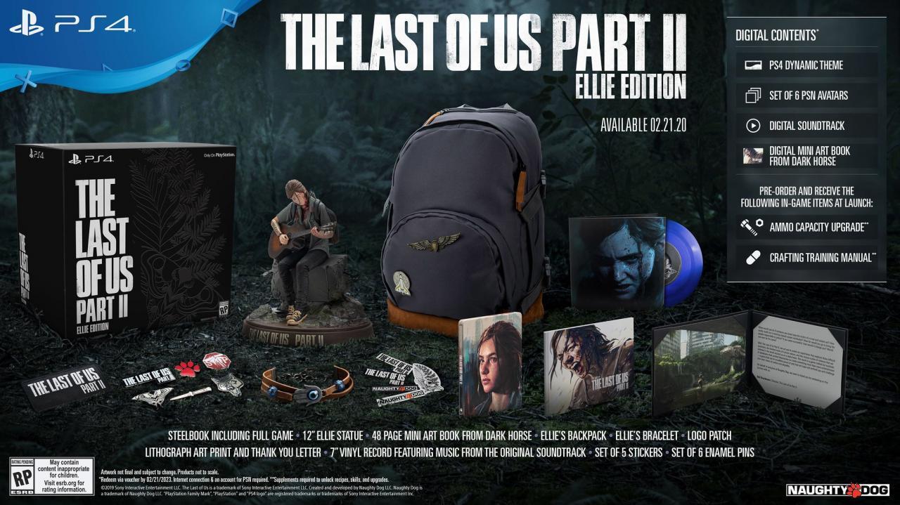 PS4新情报 《最后的生还者2》2020年2月21日发售-有饭研究