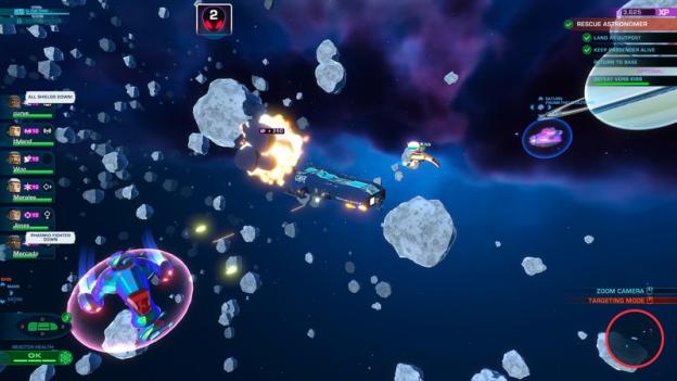 《轰炸机小队》多平台续作《星际小队》即将开启太空冒险新时代-有饭研究